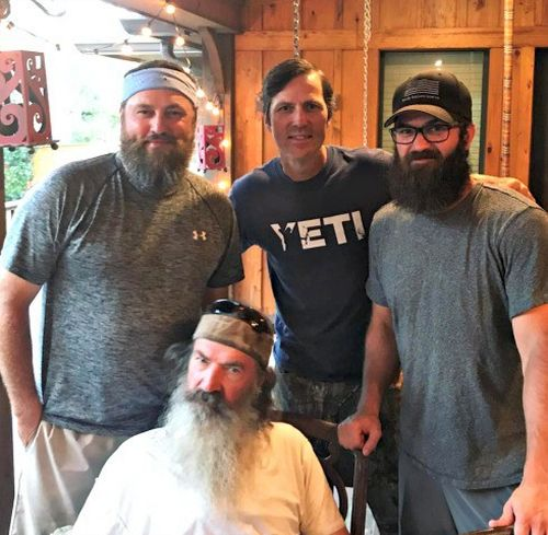 Duck dynasty star jase robertson is unrecognizable after for Jase robertson before duck dynasty