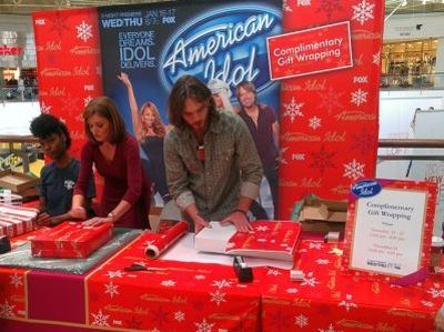 American Idol Gift Wrap Stations