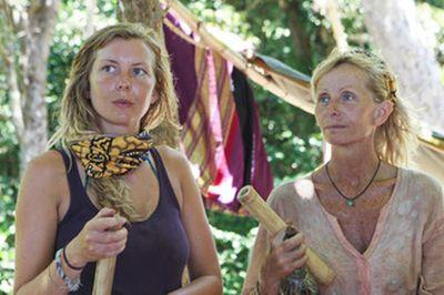 Survivor Tina and Katie