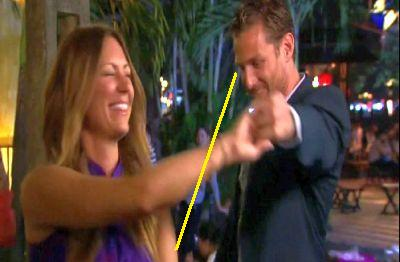 At least try to pretend you're not looking at her ass, Juan Pablo. Ew.