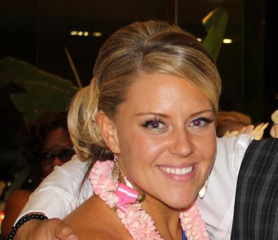 Jessica, pictured at the Season 12 finale afterparty.