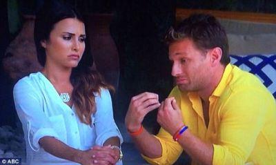 """Maybe Juan Pablo help Josh take your garter off at the wedding?"""