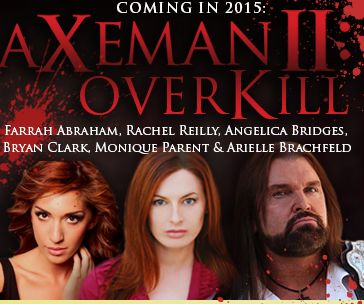 Rachel will star in 'Axeman II: Overkill.'