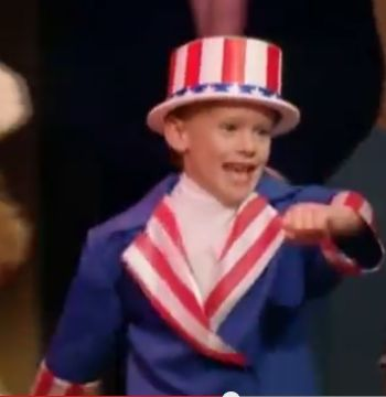 Blake as Derek on Full House...as Yankee Doodle.