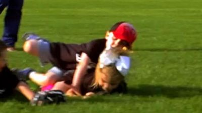 Is it wrong to place bets on toddler wrestling matches?