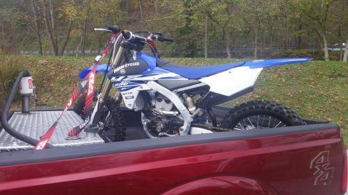 Y'all know it's serious when the dirt bike gets loaded into the truck...