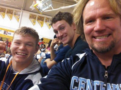 Kody bonding with his sons Hunter and Logan...