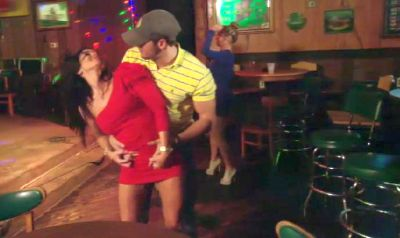 When you and your hot boyfriend have to go to the bar at Applebee's and pretend you're in 'da club!'