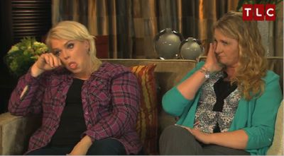 This sums up how Janelle and Christine feel about the divorce.