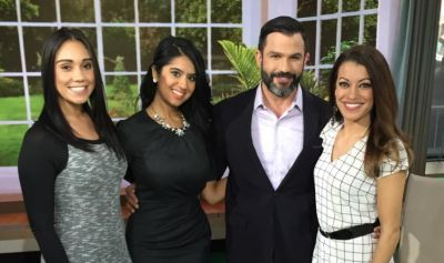 Dr. Cilona with the ladies of Season 2