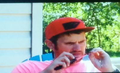 """Ding-damnit! I got spittin' tobbacy under my nail, y'all!"""
