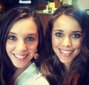 Jill and Jessa Duggar spent the day together.