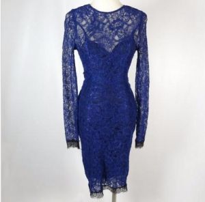 khloe kardashian blue lace dress