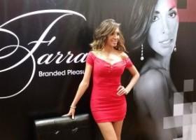 Farrah's dream come true: A wall of Farrah