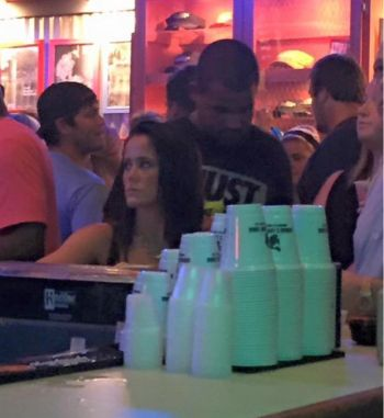 "Photographic proof: Jenelle spotted ""wif Kieffa"" last night."