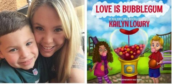 Kail's new children's book was inspired by her son Isaac.