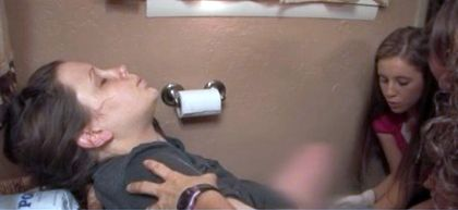 anna duggar toilet birth