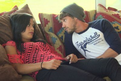Cohutta with Nany on a recent season of 'The Challenge.'