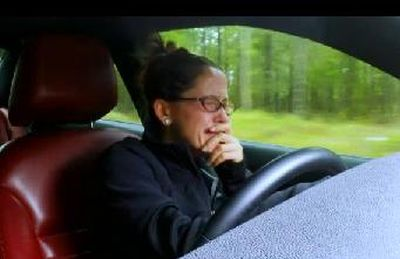 A great car-crying effort by Jenelle...