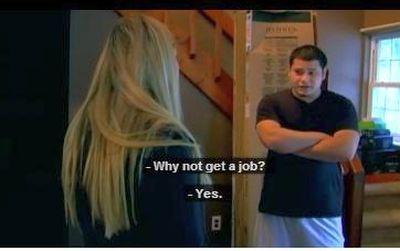 """""""Do you not know that I'm an international RAP SUPERSTAR?! A job...pssssh!"""""""