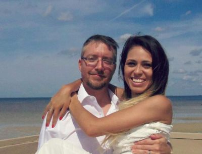 Jason and Cassia in Florida