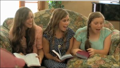 When Amy told the Duggar girls that they don't have to get pregnant on their honeymoons...