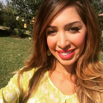 A recent photo of Farrah Abraham's face...just gonna leave this here...