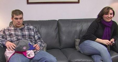 Matt and Alex during the filming of 'Teen Mom 3.'