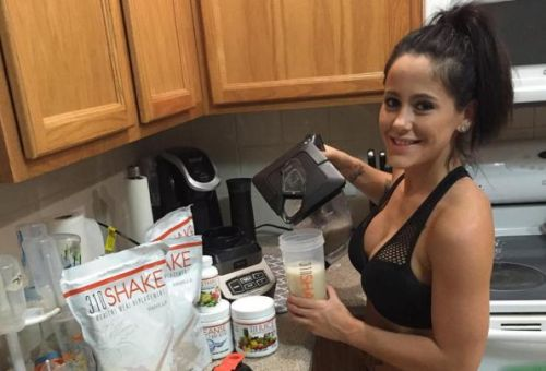 From shakes to butt creams, there's nothing that Jenelle won't hawk!