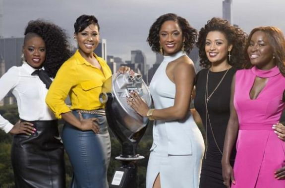 Monet (second from left) will star on 'Black Love.'
