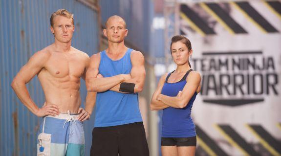 Team Alpha-- Evan Dollard, Brent Steffensen & Kacy Catanzaro-- is going to be hard to beat!
