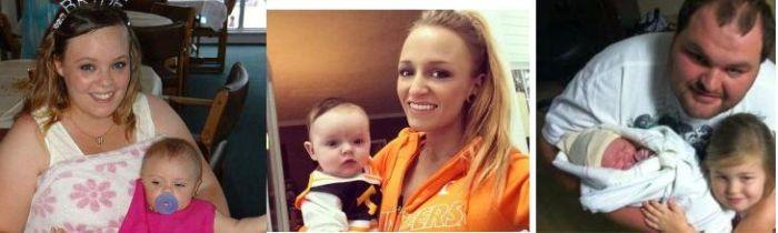 Three new 'Teen Mom OG' babies were born in 2015.