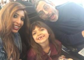 Farrah and family