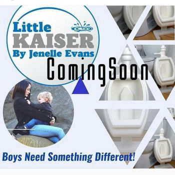 "Jenelle tweeted this photo, announcing her ""Little Kaiser"" product..."