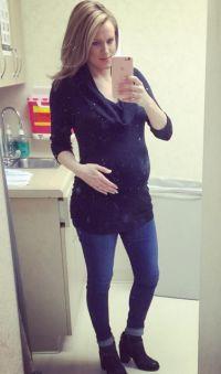 ashley salter pregnant