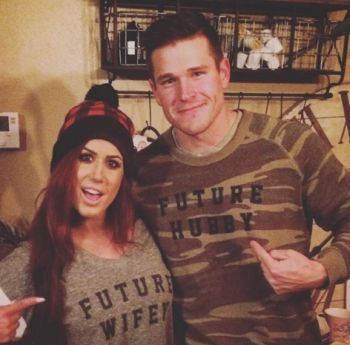 The shirts are cute but Cole & Chelsea are going a bit fancier for their wedding...