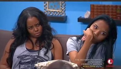 This was legit Shar's face while she listened to Courtney talk about her mom stealing her husband.