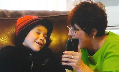 """I did it, Grandma. Now show me where you hide the Coke!"""