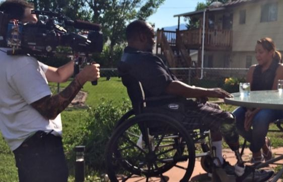 Raphael Hameed, shown here on '24 to Life,' is now disabled and homeless.