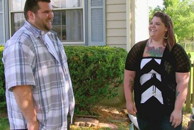 Mike and Ashley meeting during their episode of 'Catfish.'