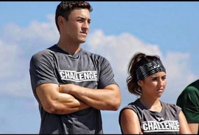 "Camila with her ""Rivals III"" partner, Tony Raines"