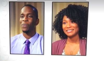 Quinton and Brandi when they appeared on 'Married at First Sight' as a potential match...