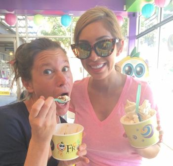 'Teen Mom' producer Heather and Farrah enjoying some Froco...
