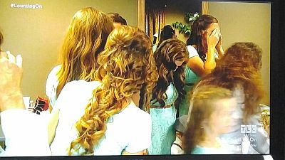 Say what you want about them, but these Duggar girls have some damn nice hair...