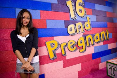Valerie at the '16 and Pregnant' Season 2 reunion taping in 2010...